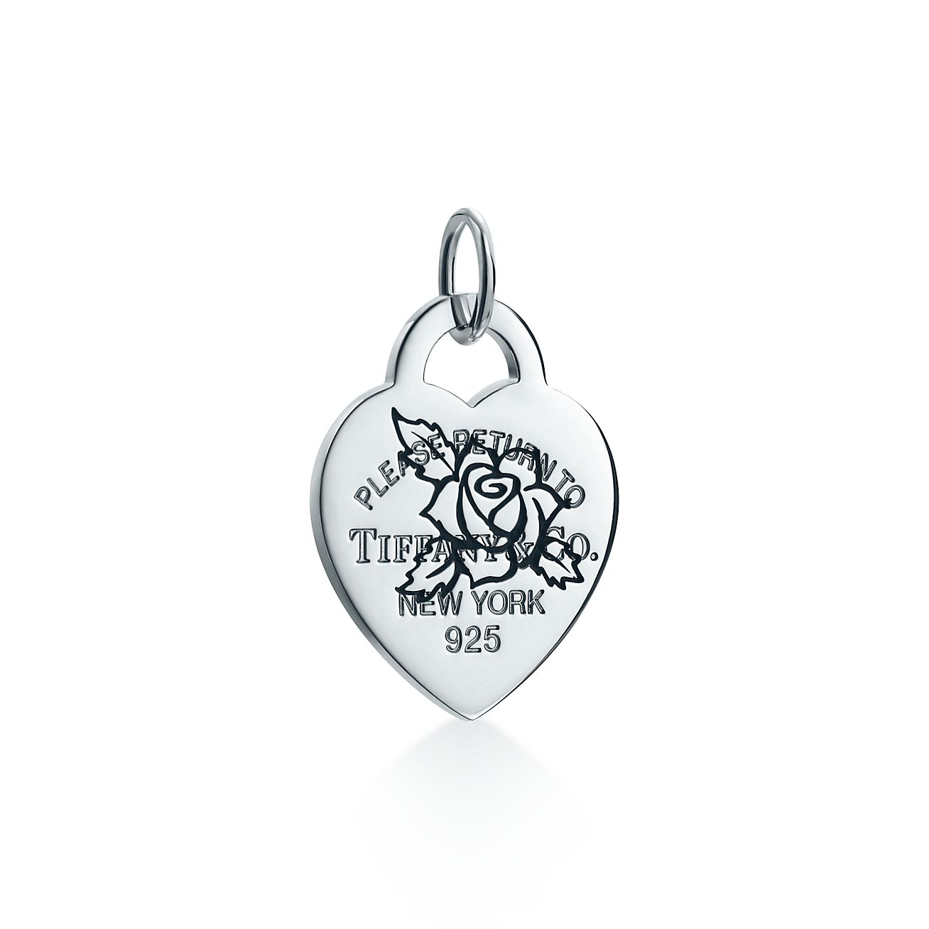 Return to Tiffany heart tag charm in sterling silver, medium - Size None Tiffany & Co.
