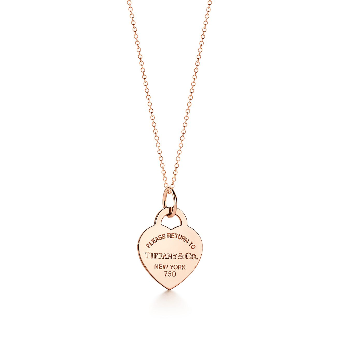 Return to Tiffany heart tag charm in 18k gold, medium Tiffany & Co.