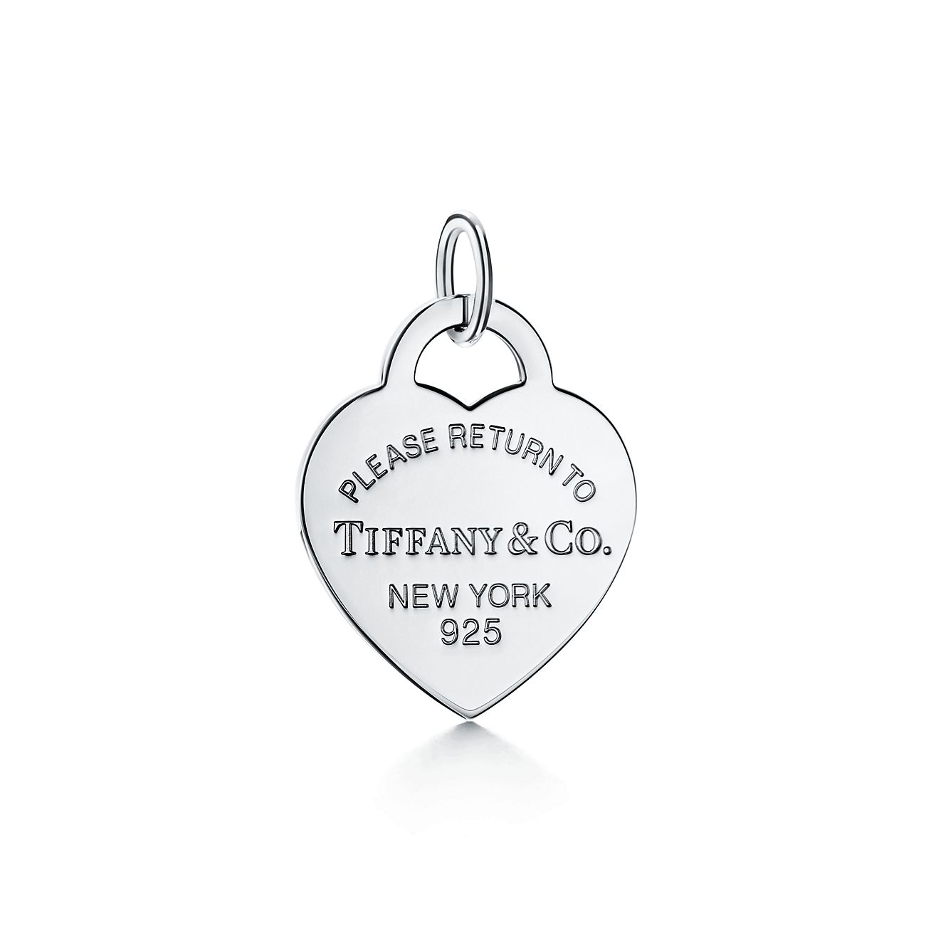 Return to Tiffany heart tag charm in sterling silver, large - Size None Tiffany & Co.