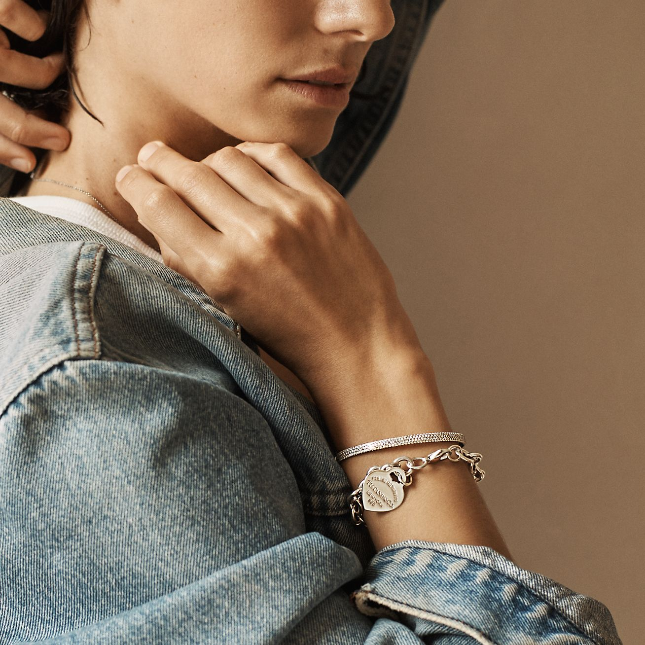 cute bracelet circles bracelet charm bracelet Silver bracelet box chain bracelet everyday wear silver bracelet sterling bracelet