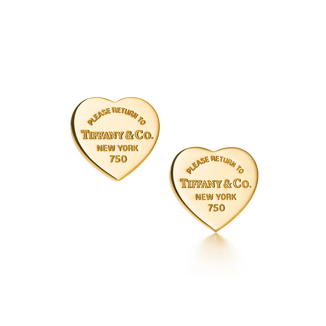 Return To Tiffany Heart Tag Earrings