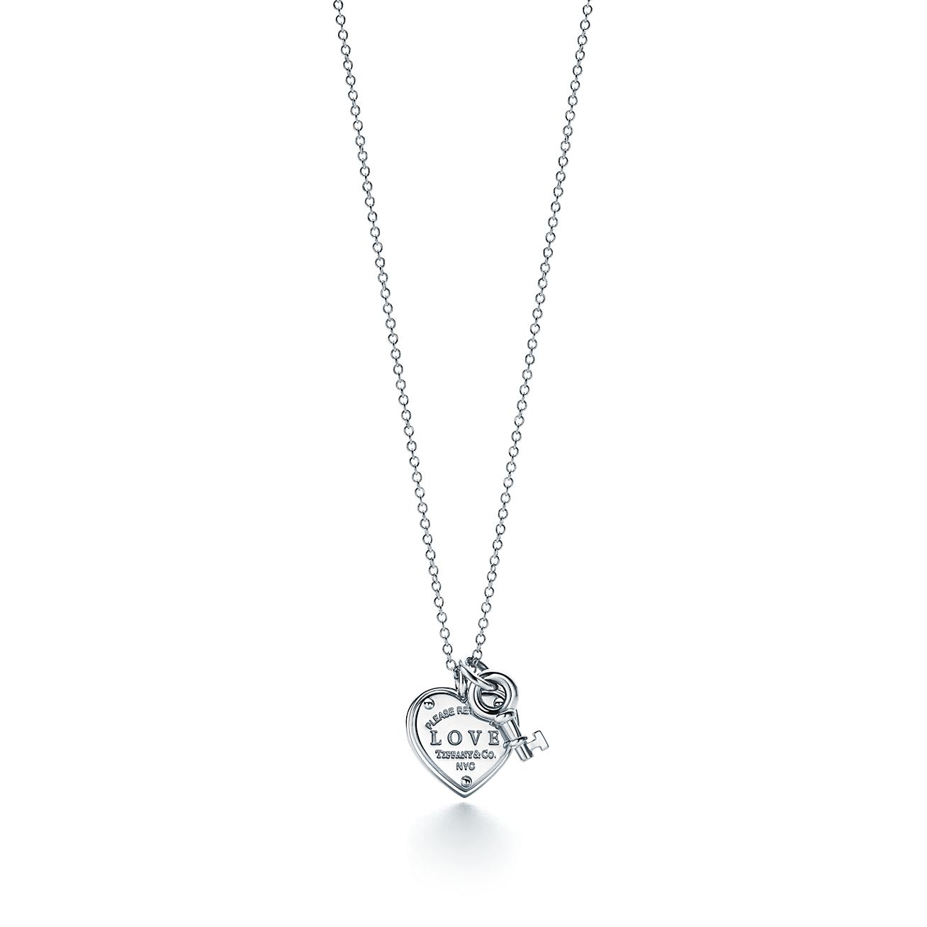 jewelry key mountain cz silver circles necklace product three