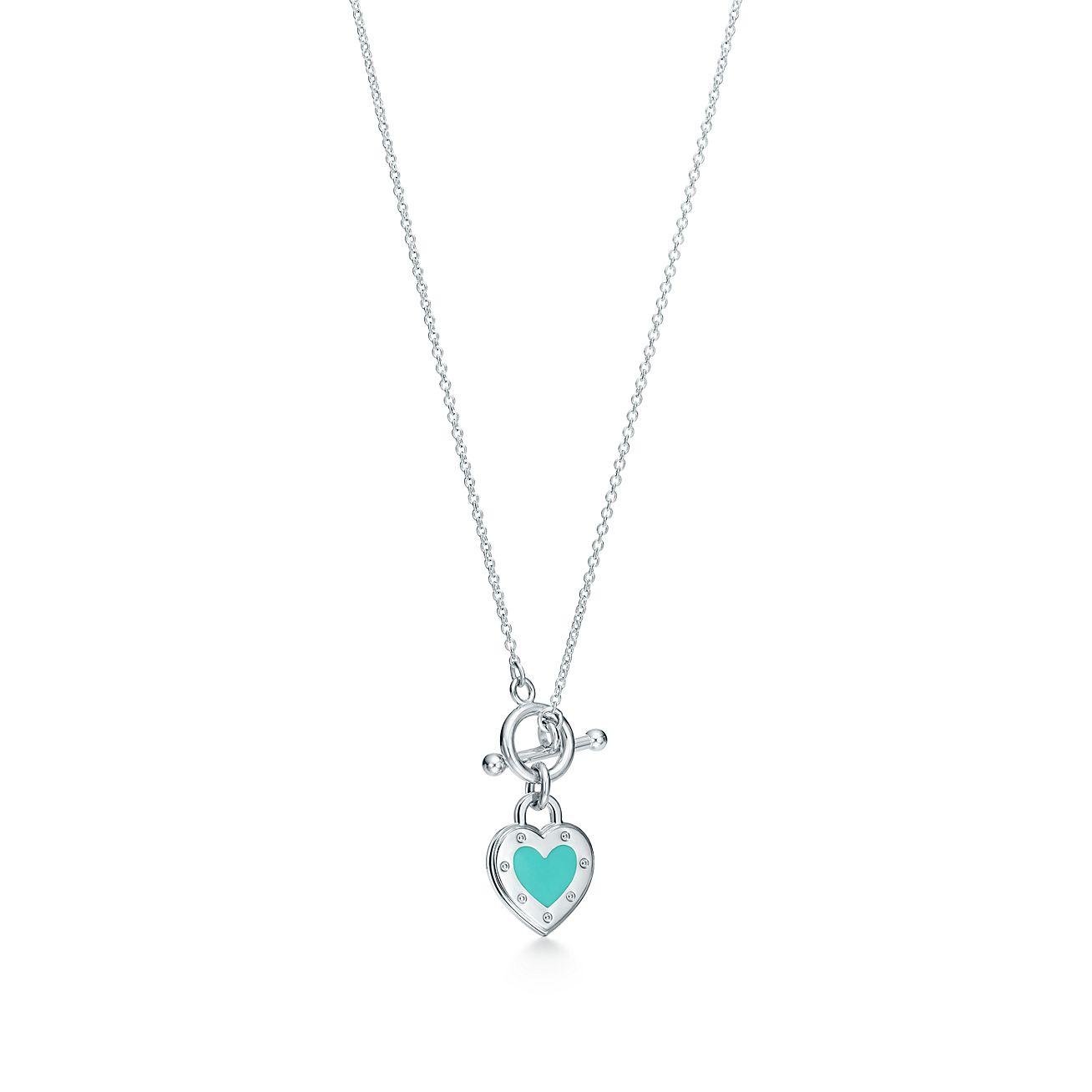Return to Tiffany Love heart bead bracelet in silver with enamel finish - Size Medium Tiffany & Co. TnMuRQAE5Q