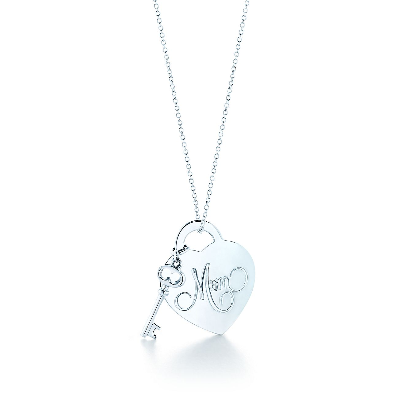 Return to tiffany mom heart tag with key pendant in sterling silver return to tiffany mom heart tag with key pendant in sterling silver tiffany co aloadofball Image collections