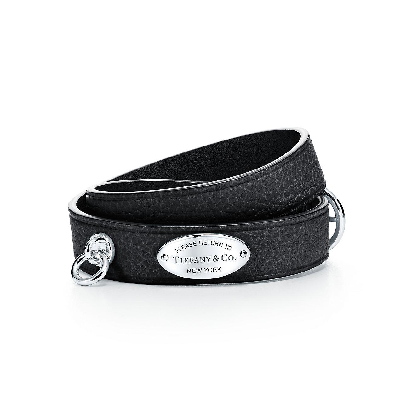 Narrow Leather Wrap Bracelet