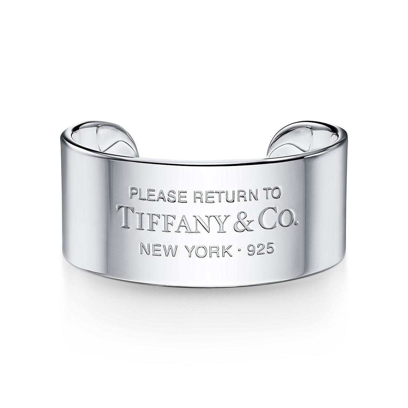 Mens Unique Wide Sterling Silver Cuff Bracelet