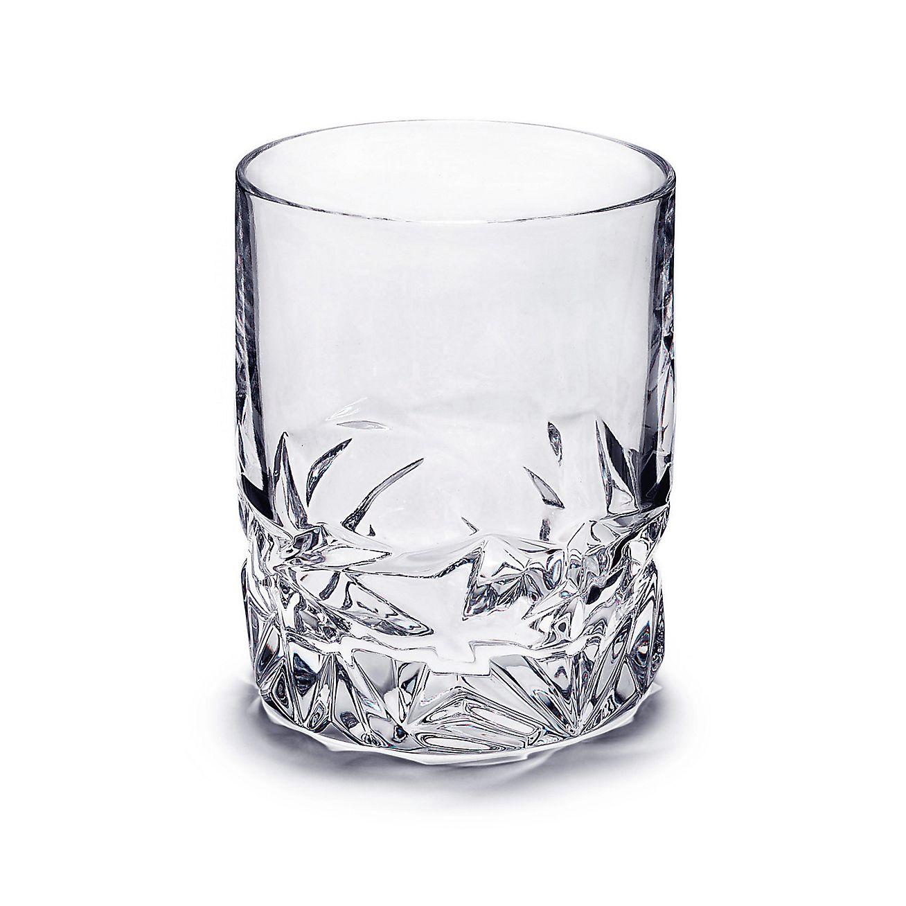 Rock Cut Double Old Fashioned Glass In Crystal.   Tiffany U0026 Co.