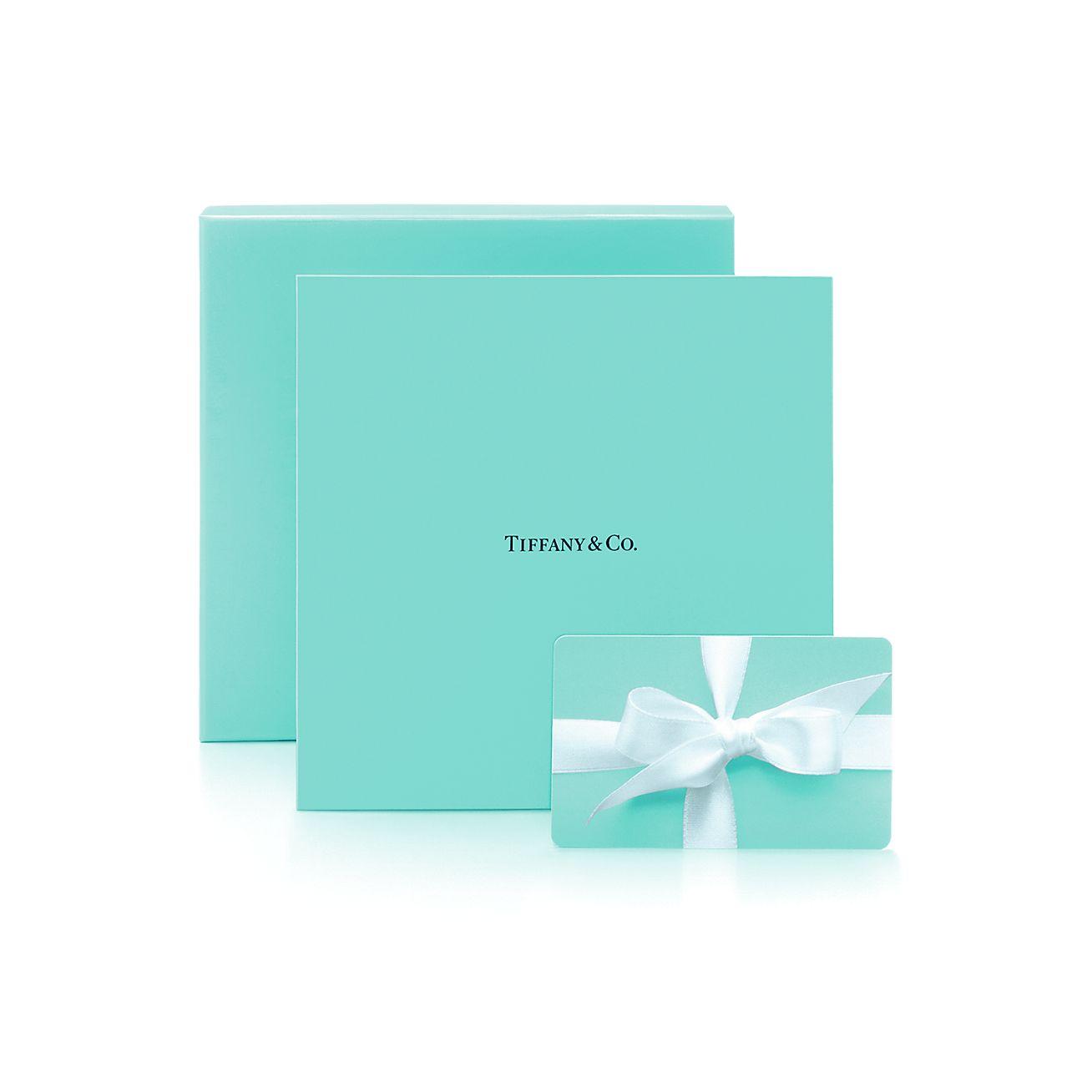 $50 Tiffany Gift Card. | Tiffany & Co.
