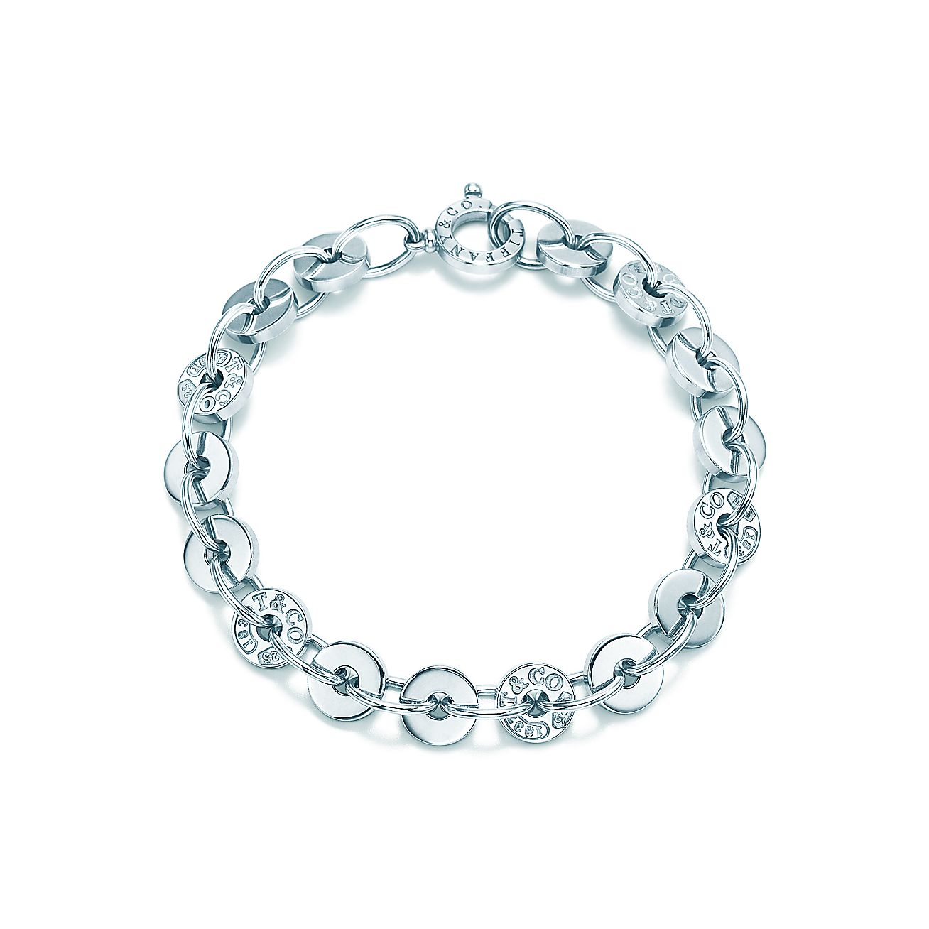 Tiffany 1837 Circle Bracelet In Sterling Silver Medium Co