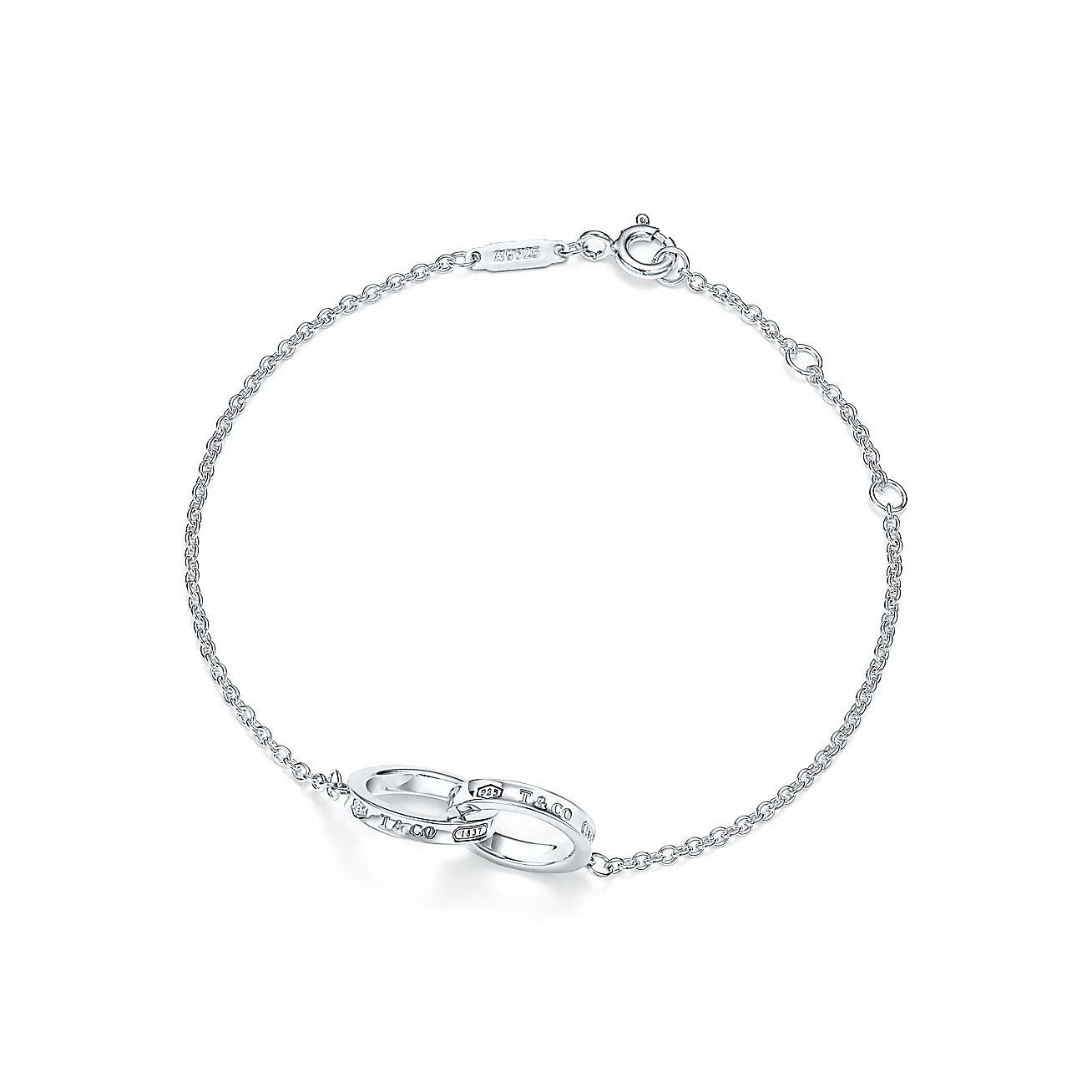 Tiffany 1837 Interlocking Circles Bracelet In Sterling Silver Co