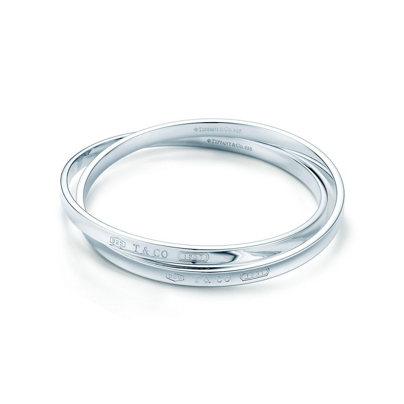 Tiffany 1837™:Interlocking Circles Bangle