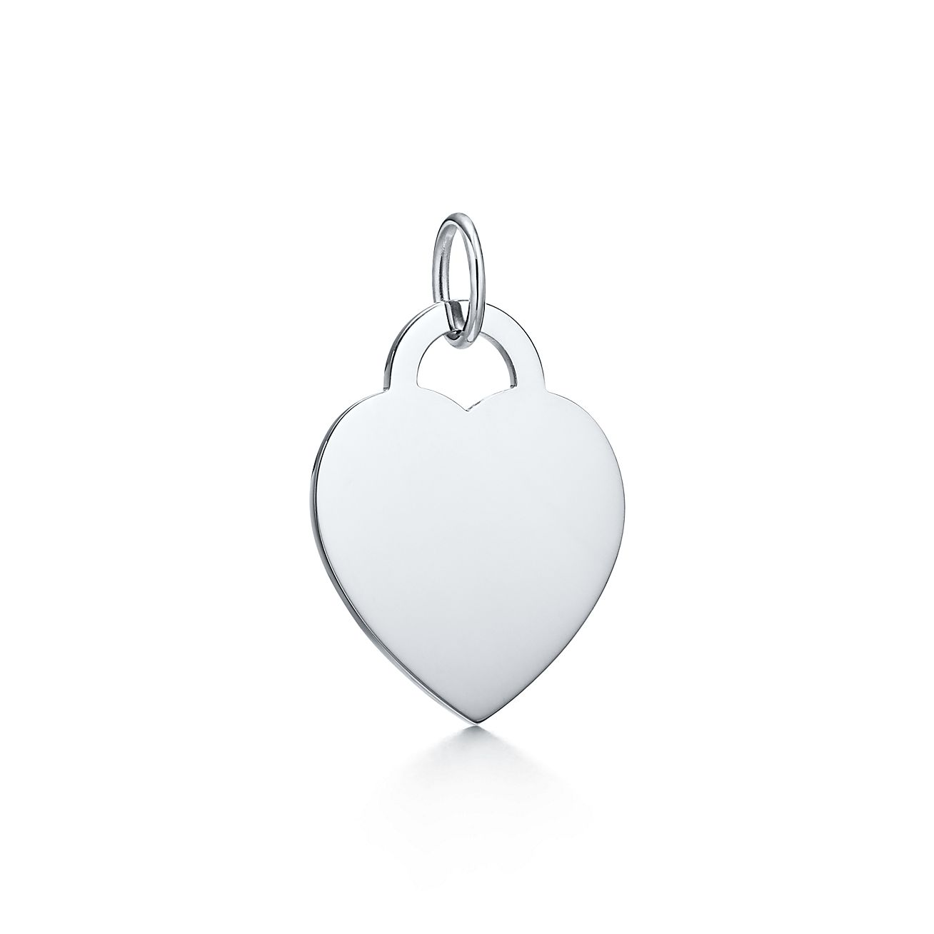 Tiffany Charms heart tag charm in sterling silver, large Tiffany & Co.