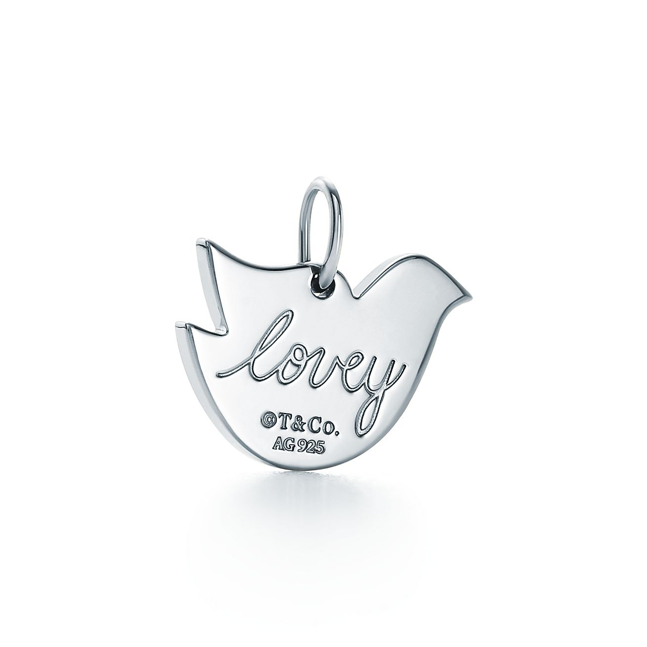 Tiffany Charms lovey dovey charm in sterling silver Tiffany & Co. b6Wzb