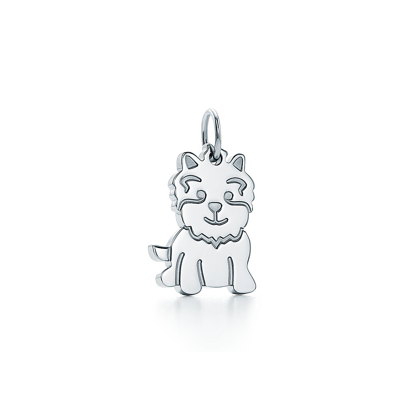 Tiffany charms new yorkie charm in sterling silver tiffany co aloadofball Image collections