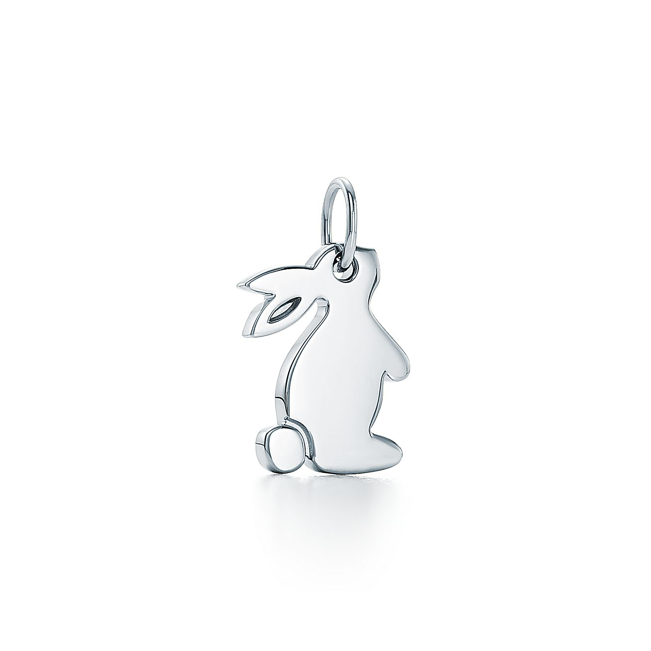 Tiffany charms snuggle bunny charm in sterling silver tiffany co aloadofball Images