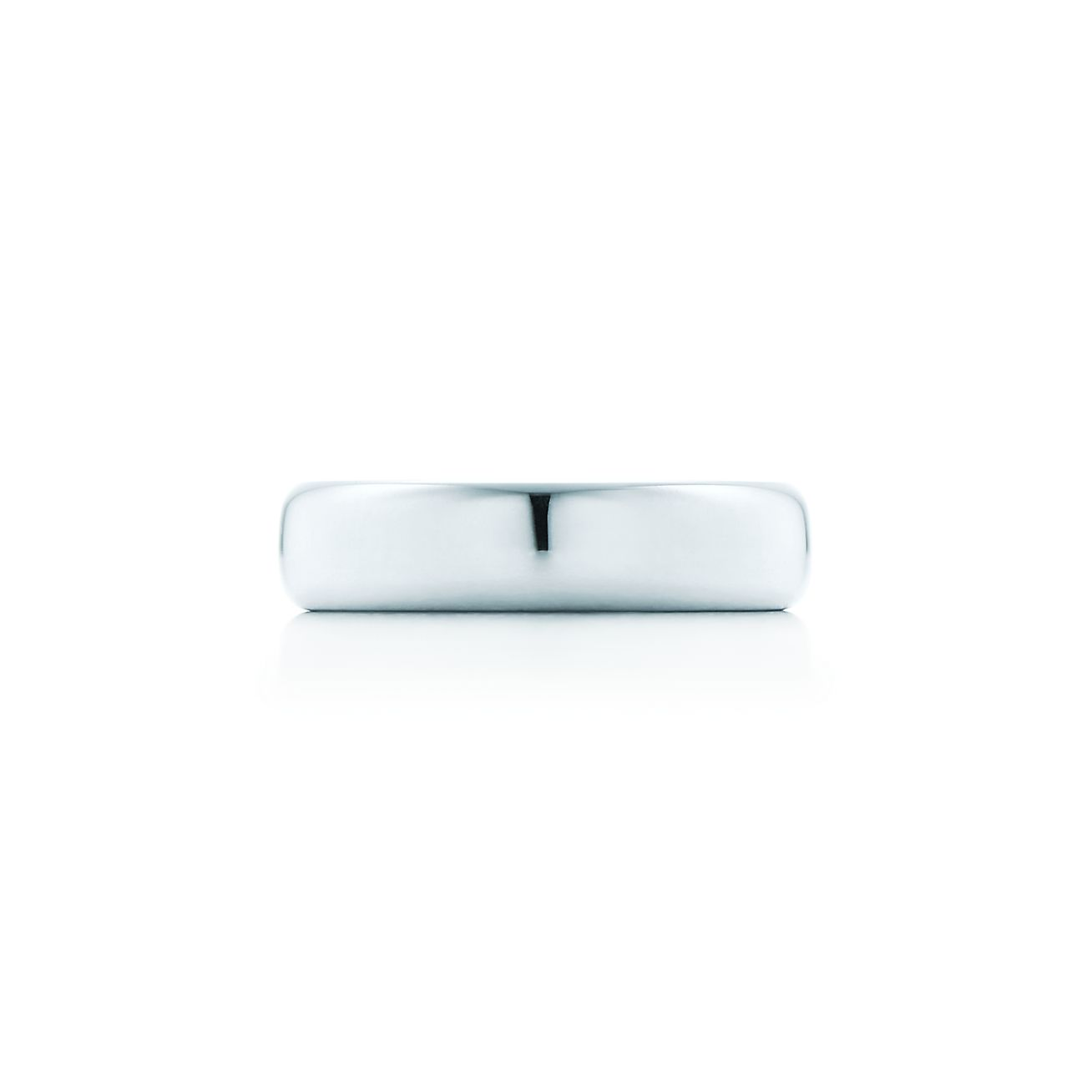 Tiffany Classic wedding band ring in 18k rose gold, 4.5 mm wide - Size 12 1/2 Tiffany & Co.