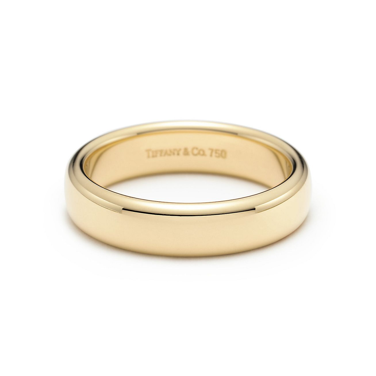 This is a graphic of Tiffany Classic™ Wedding Band Ring