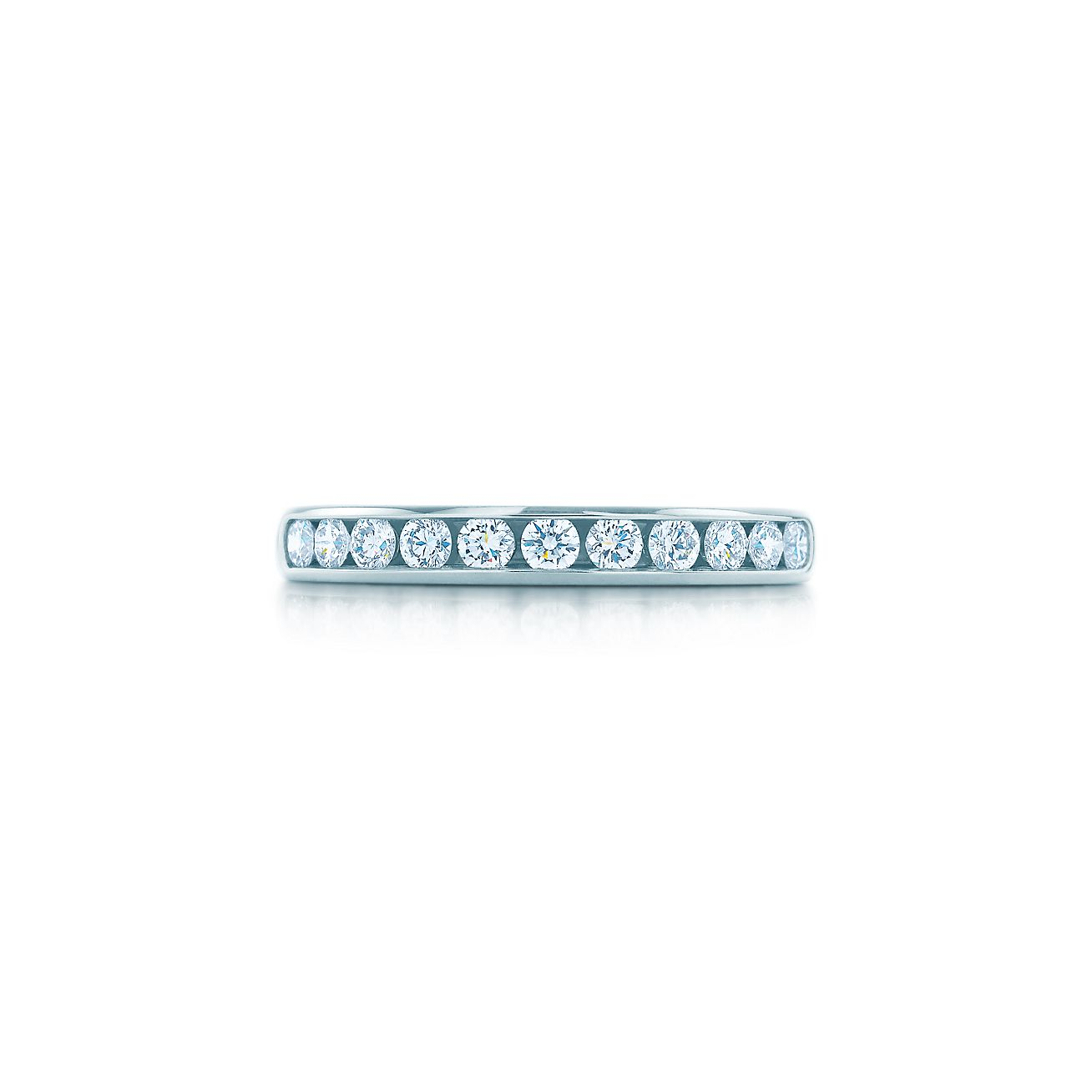 Tiffany diamond wedding band in platinum 3 mm wide tiffany co tiffany diamond wedding band junglespirit Image collections