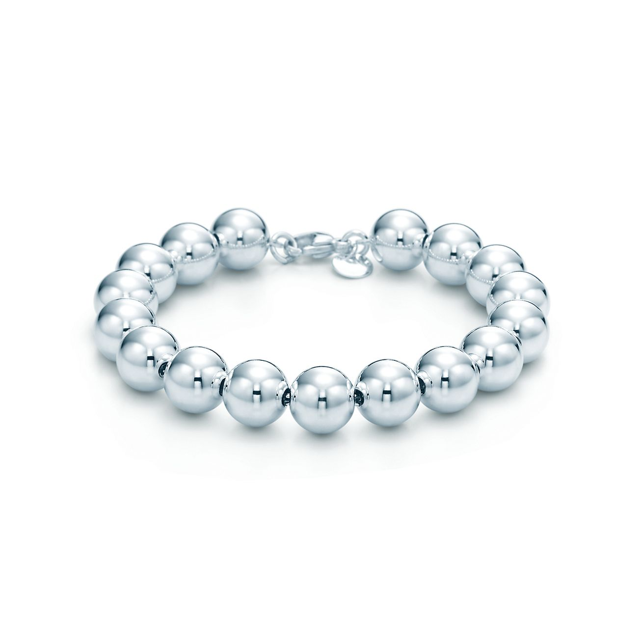 sterling jewelry bracelet silver and m co long ball in ed bracelets hardwearball hardwear tiffany bead mm
