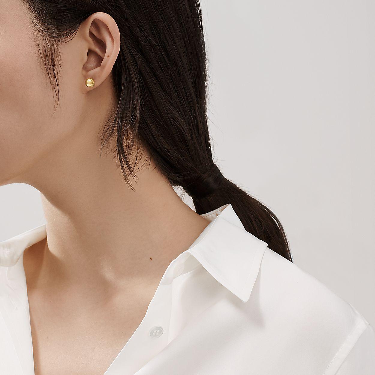 Tiffany Hardwear Ball Earrings In 18k