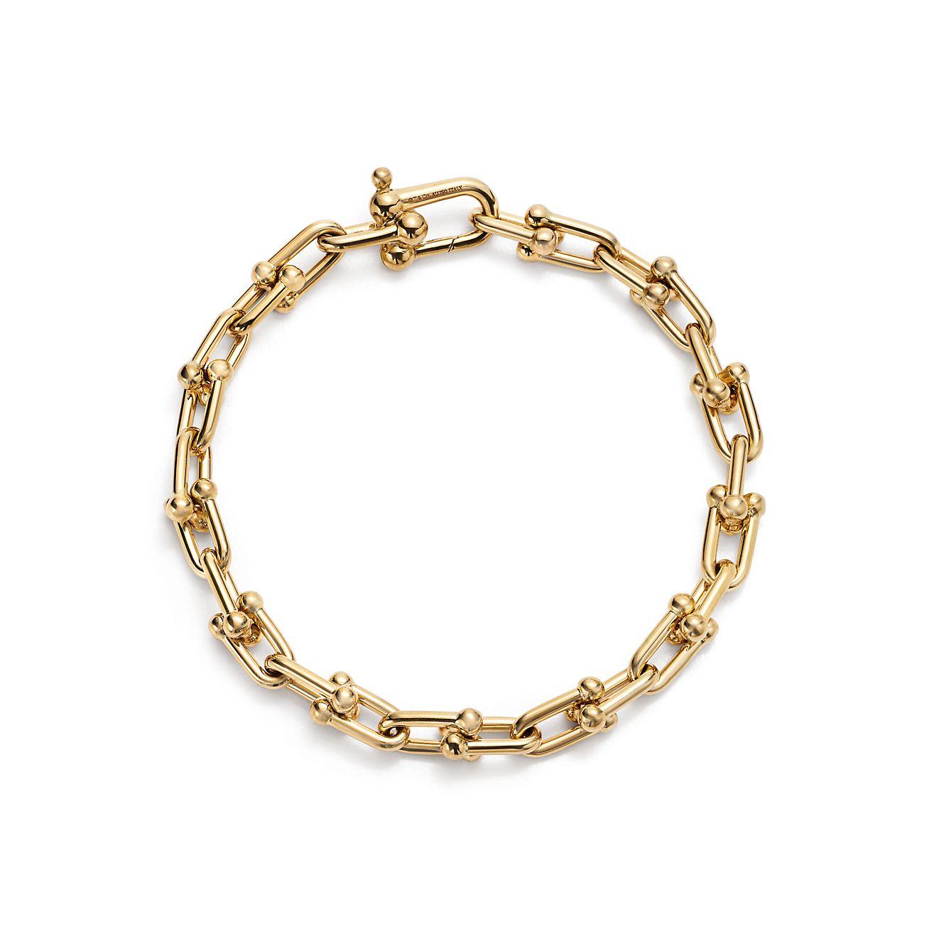 Tiffany Hardwear 18k Gold Link Bracelet