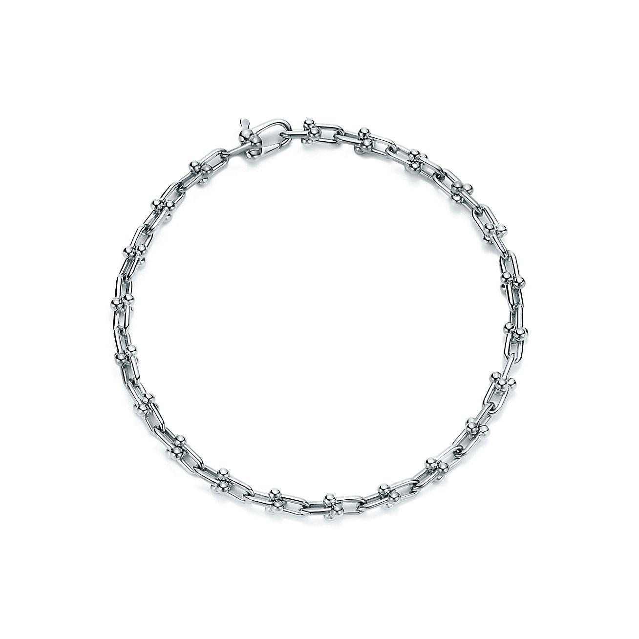 Tiffany Hardwear Micro Link Bracelet In Sterling Silver Medium Co
