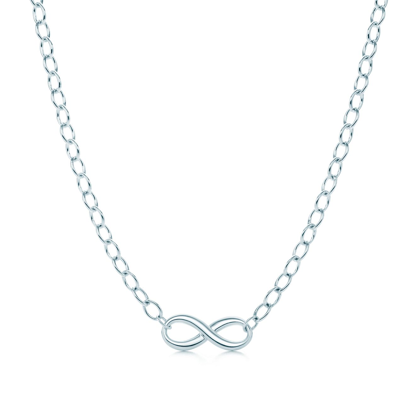 outlet b2c9a 98759 Collana Tiffany Infinity in argento. | Tiffany & Co.