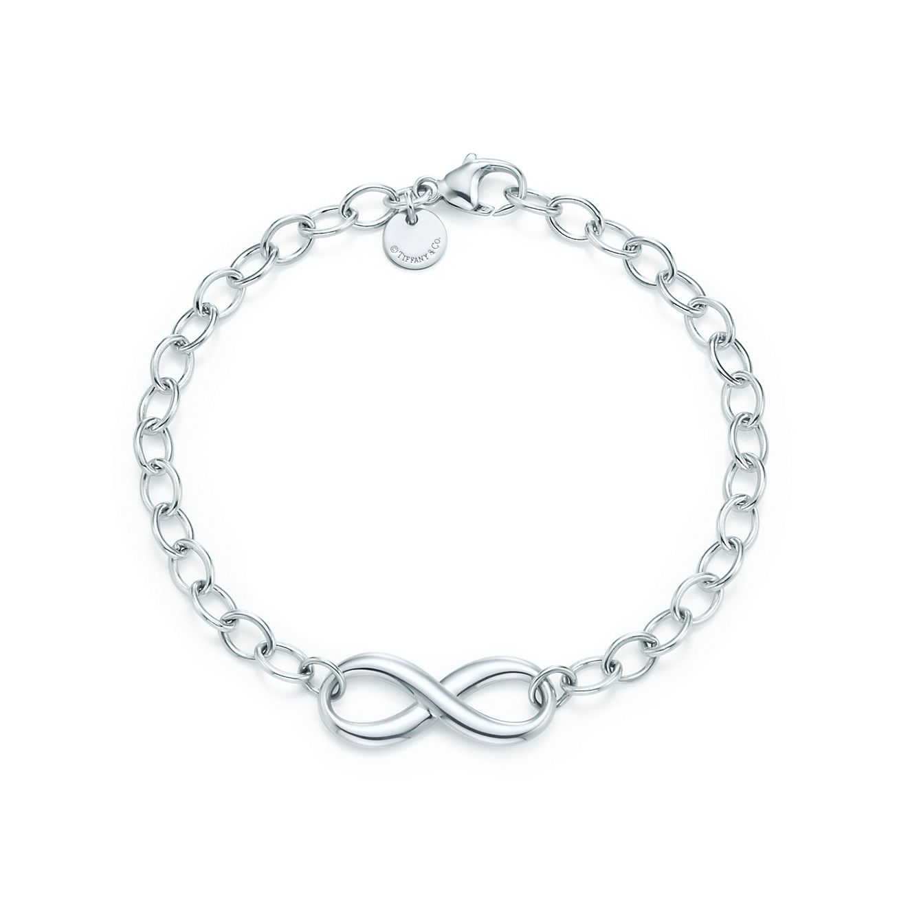 Infinity Bracelet In Sterling Silver Tiffany Co