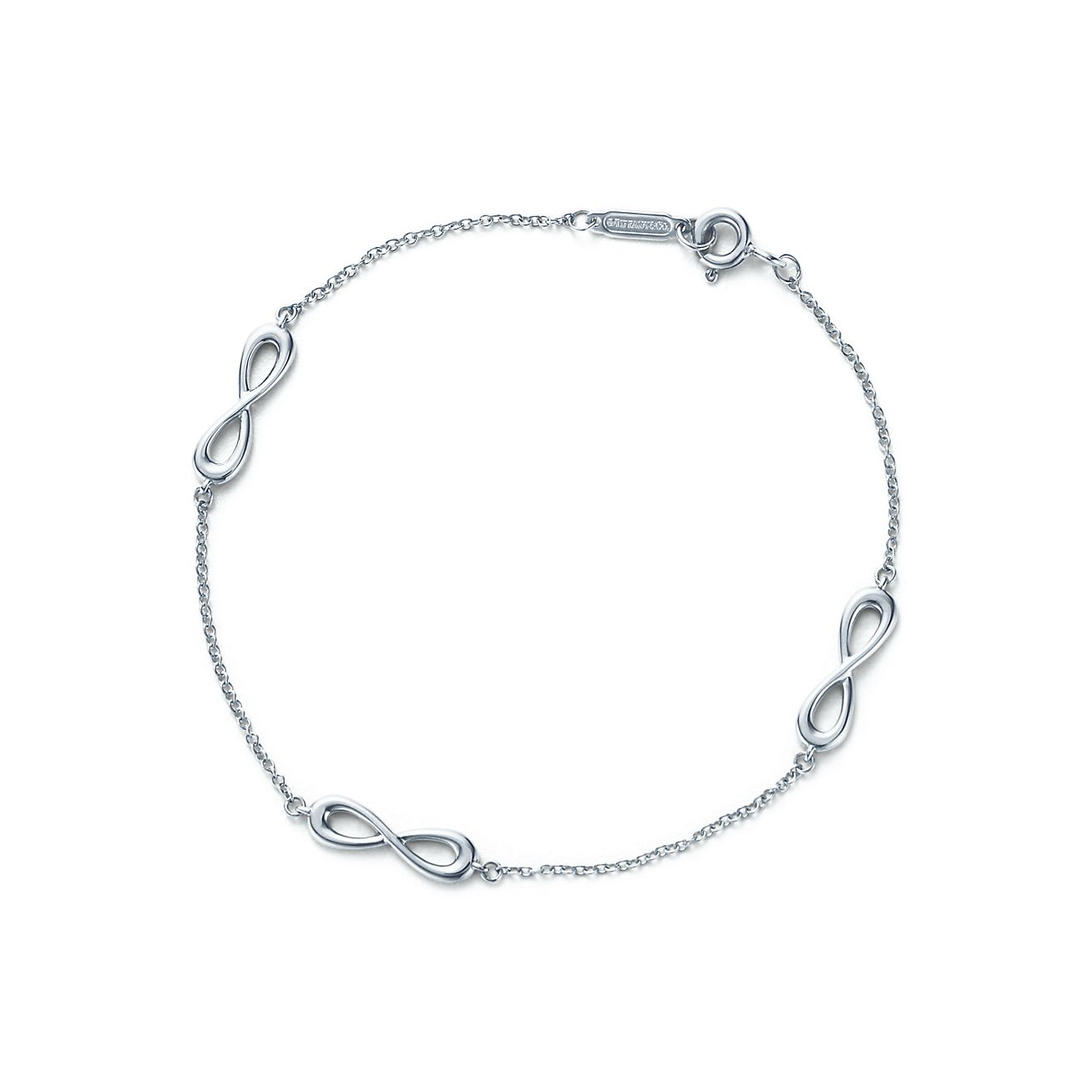 Tiffany Infinity Endless Bracelet In Sterling Silver Large