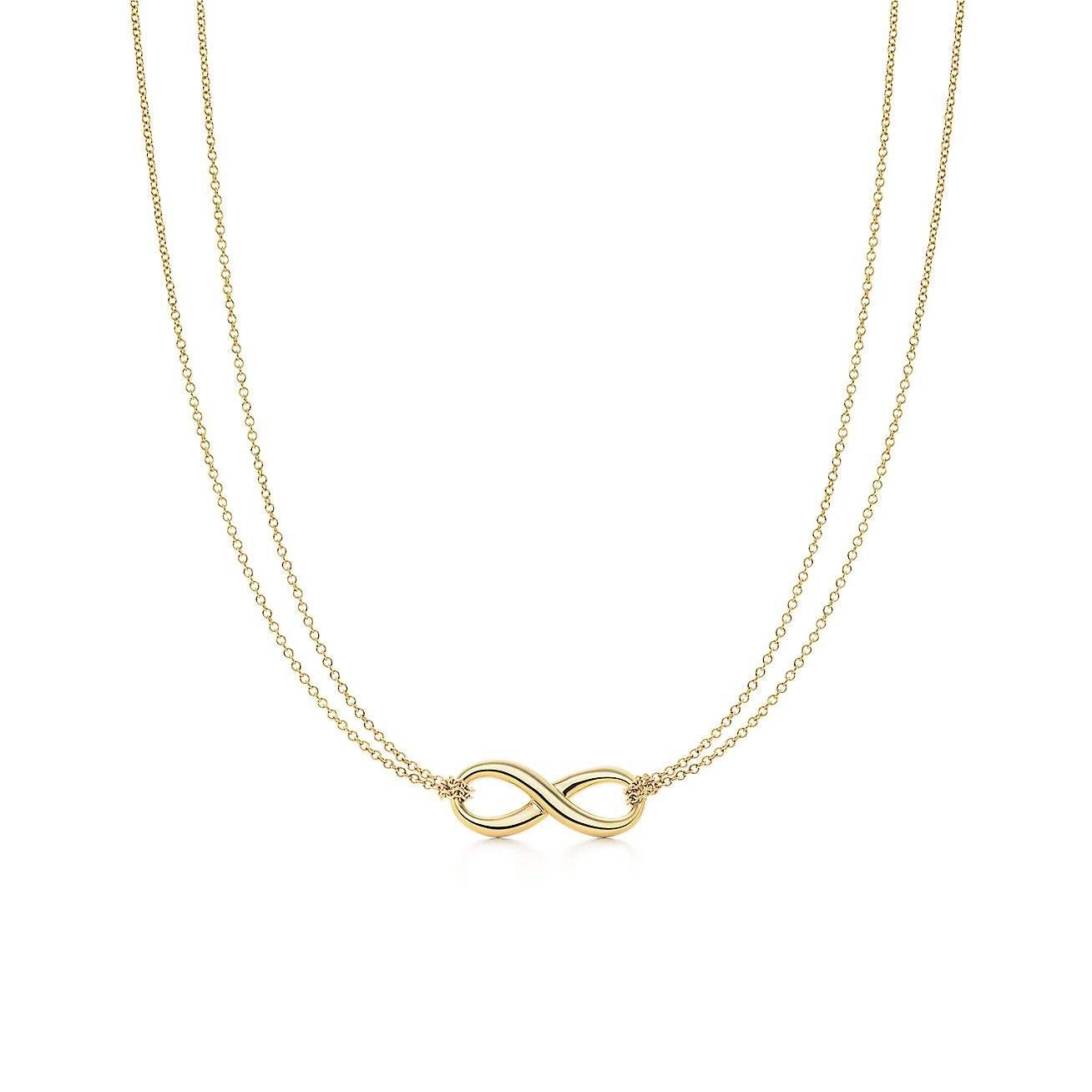 Tiffany infinity pendant in 18k gold tiffany co aloadofball Gallery