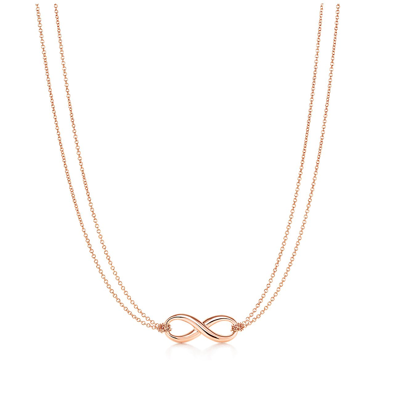 Tiffany infinity pendant in 18k rose gold tiffany co aloadofball Gallery