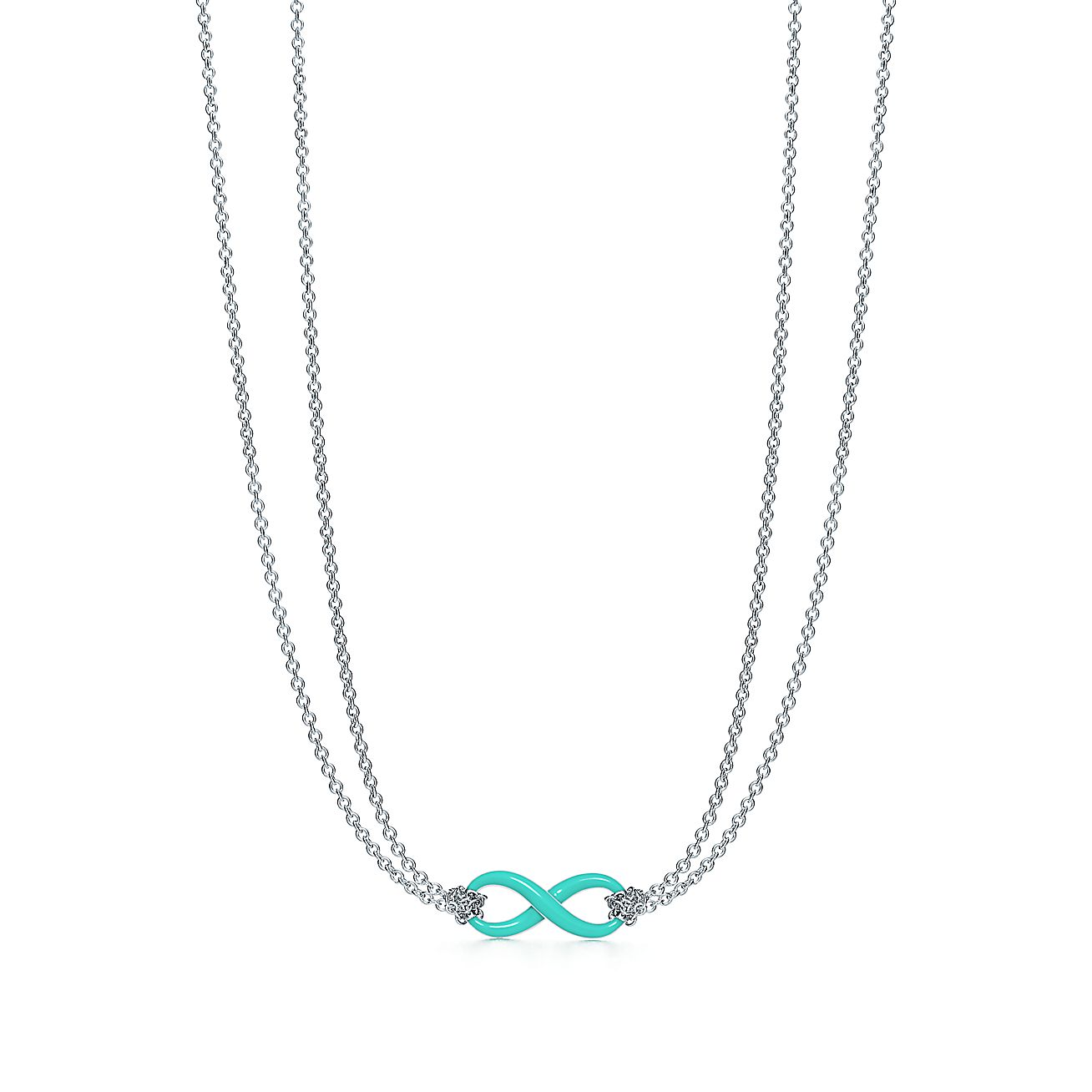 infinity necklace sterling wid silver sign mom product