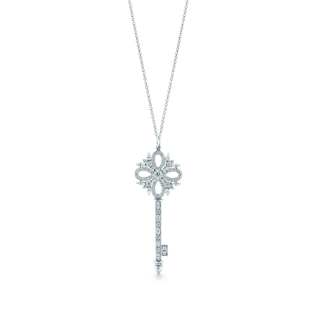 Colgante de llave tiffany keys de tiffany victoria en platino con tiffany keys colgante de llavebrtiffany aloadofball Choice Image
