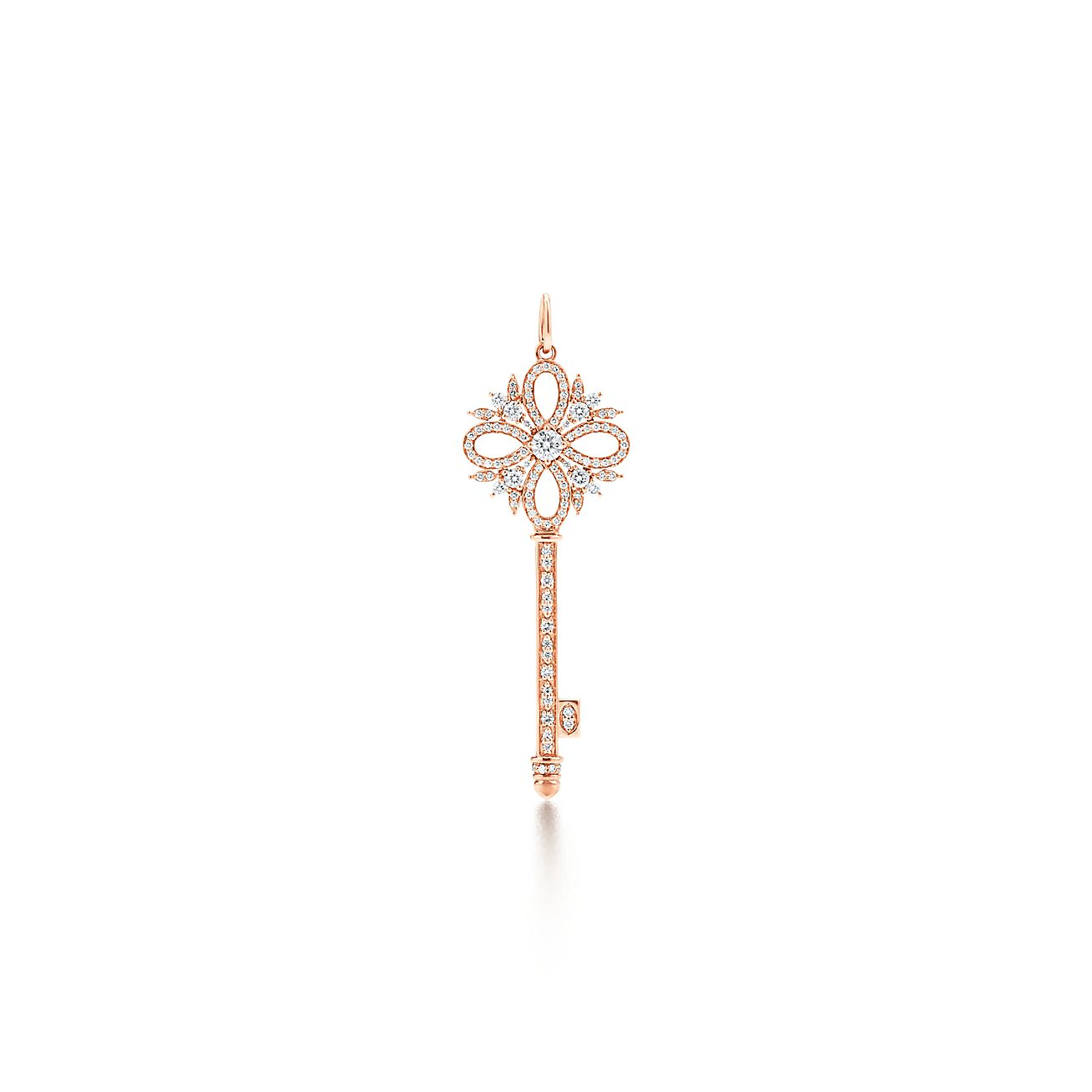 Tiffany keys tiffany victoria key pendant in rose gold with tiffany keystiffany victoriabrkey pendant aloadofball Gallery