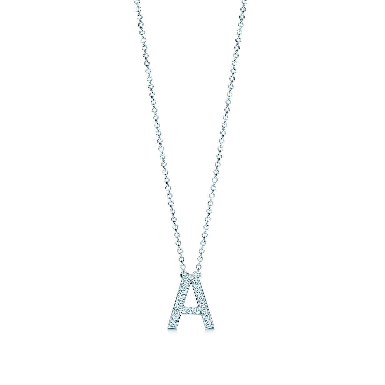 Tiffany letters pendant of diamonds in platinum mini letters a z tiffany letters pendant of diamonds in platinum mini letters a z available tiffany co mozeypictures Gallery