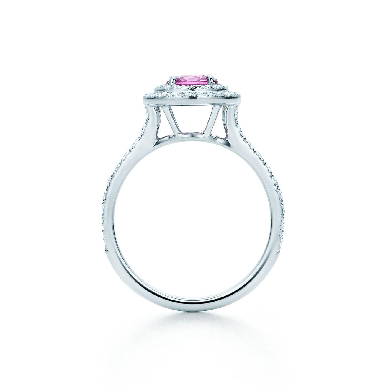 Tiffany Soleste®:pink Sapphire And Diamond Ring _alternativeview1