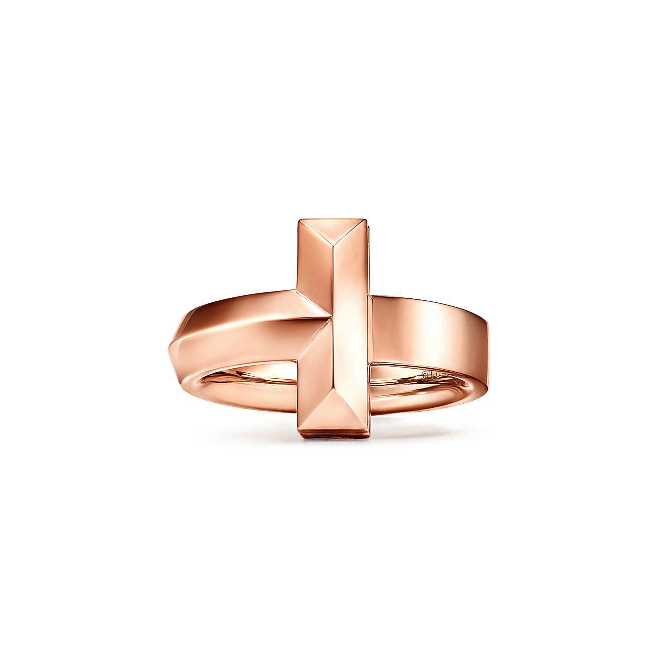 Tiffany T Широкое кольцо T1