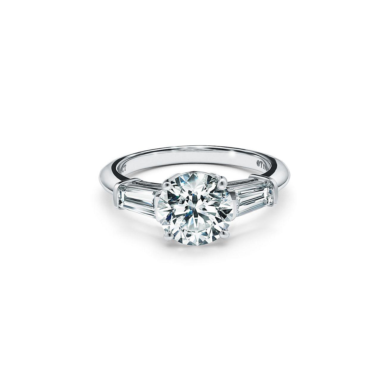 Tiffany Three Stone Engagement Ring
