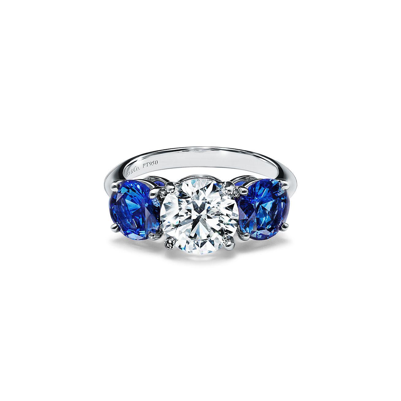 Light blue ring Size 3-13 US