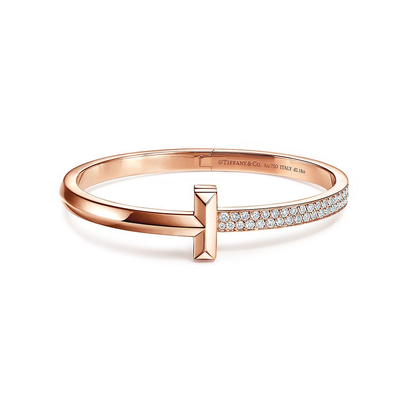 Bracelet bangle gold wide design