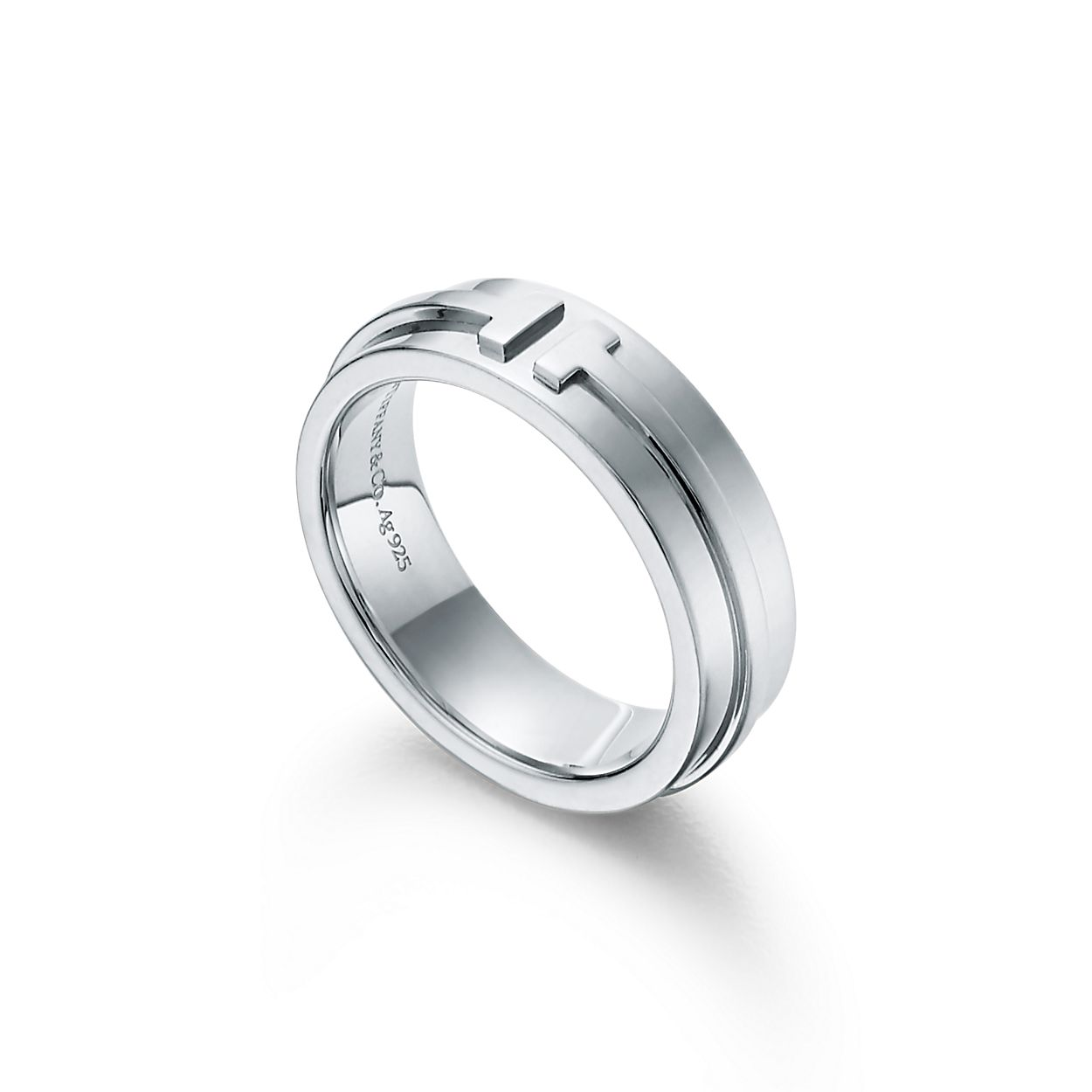 Tiffany T Wide Ring In Sterling Silver 5 9 Mm Wide Tiffany Co