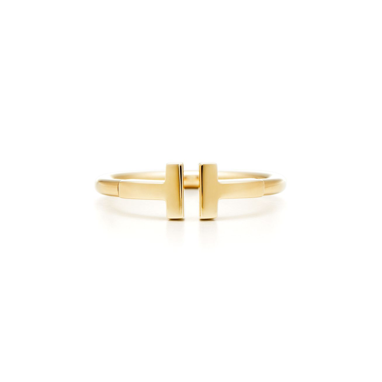 Tiffany T Wire Ring In 18k Gold Tiffany Co