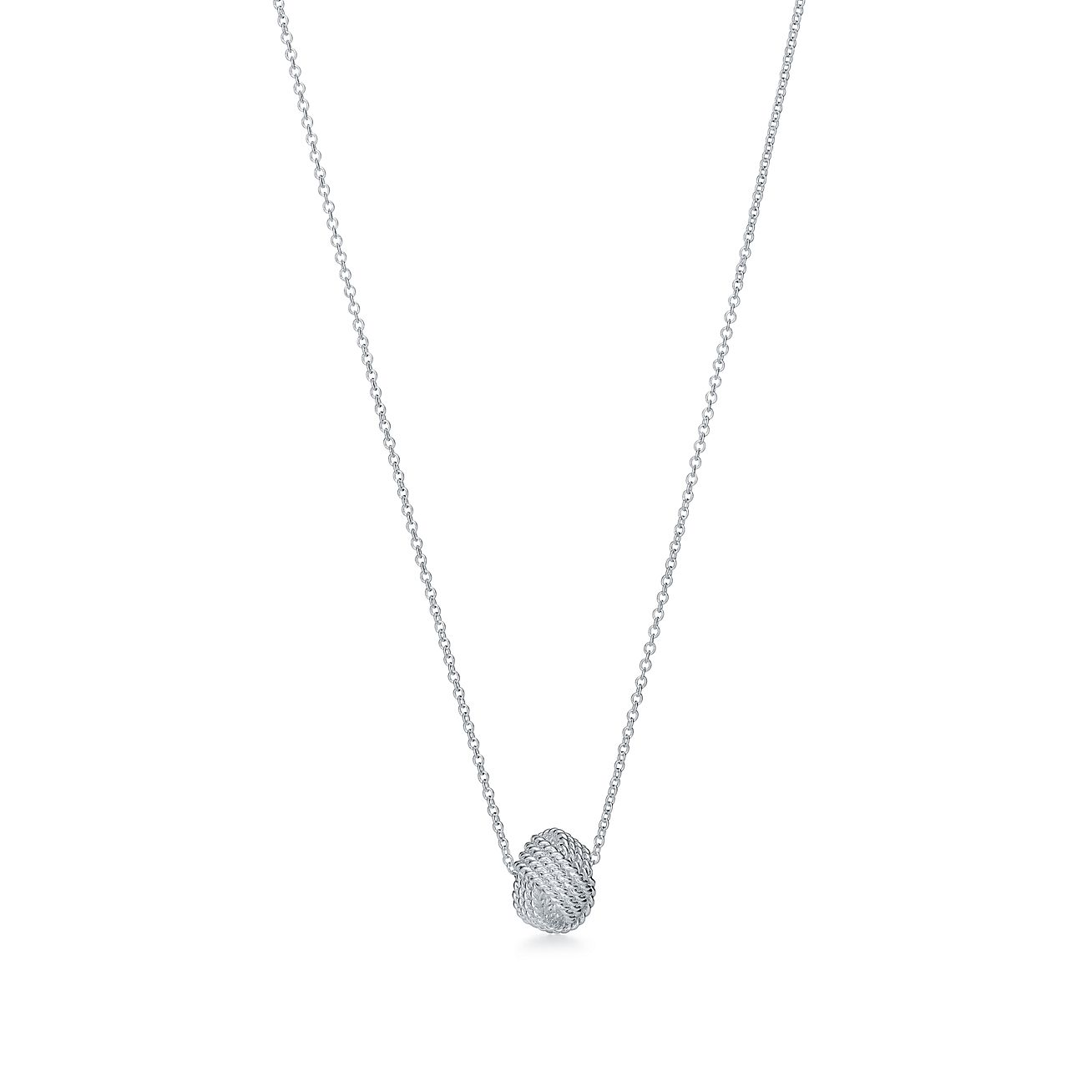 Tiffany Twist Knot Pendant In Sterling Silver Tiffany Co