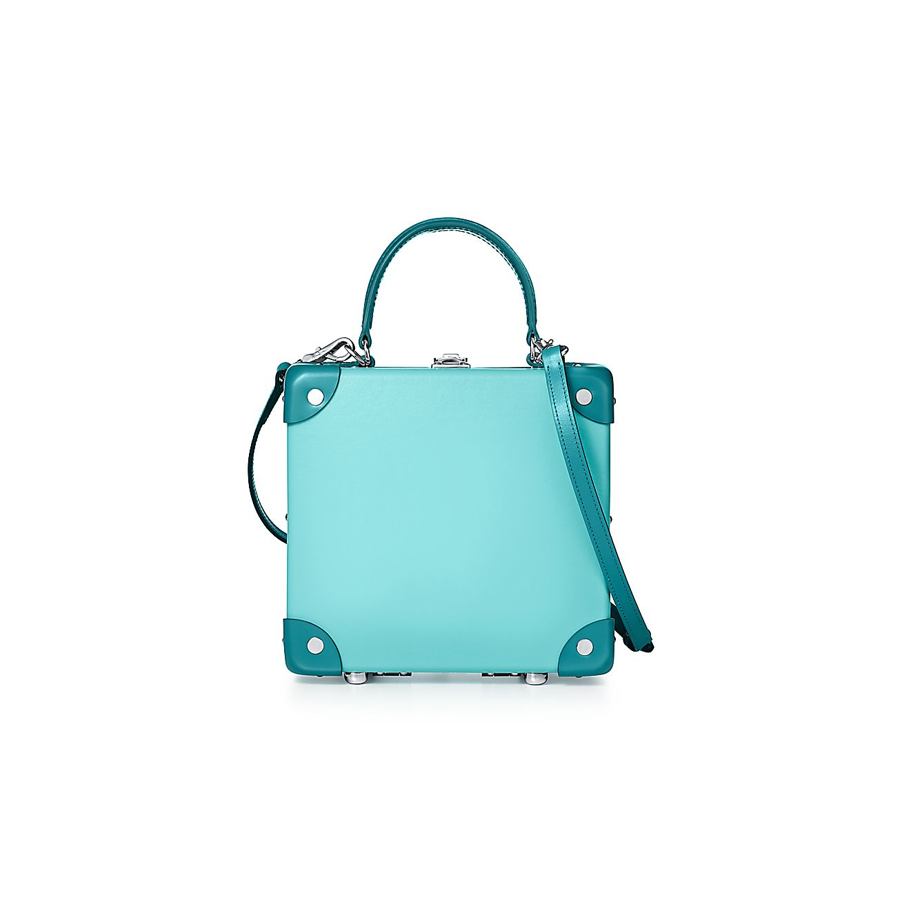 London Square Bag In Tiffany Blue