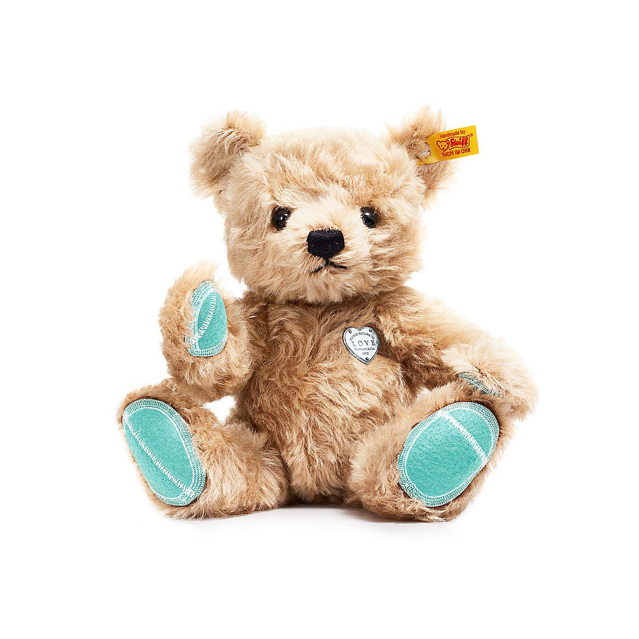 Tiffany X Steiff Return To Tiffany Love Classic Teddy Bear In Mohair 10 5 Tiffany Co