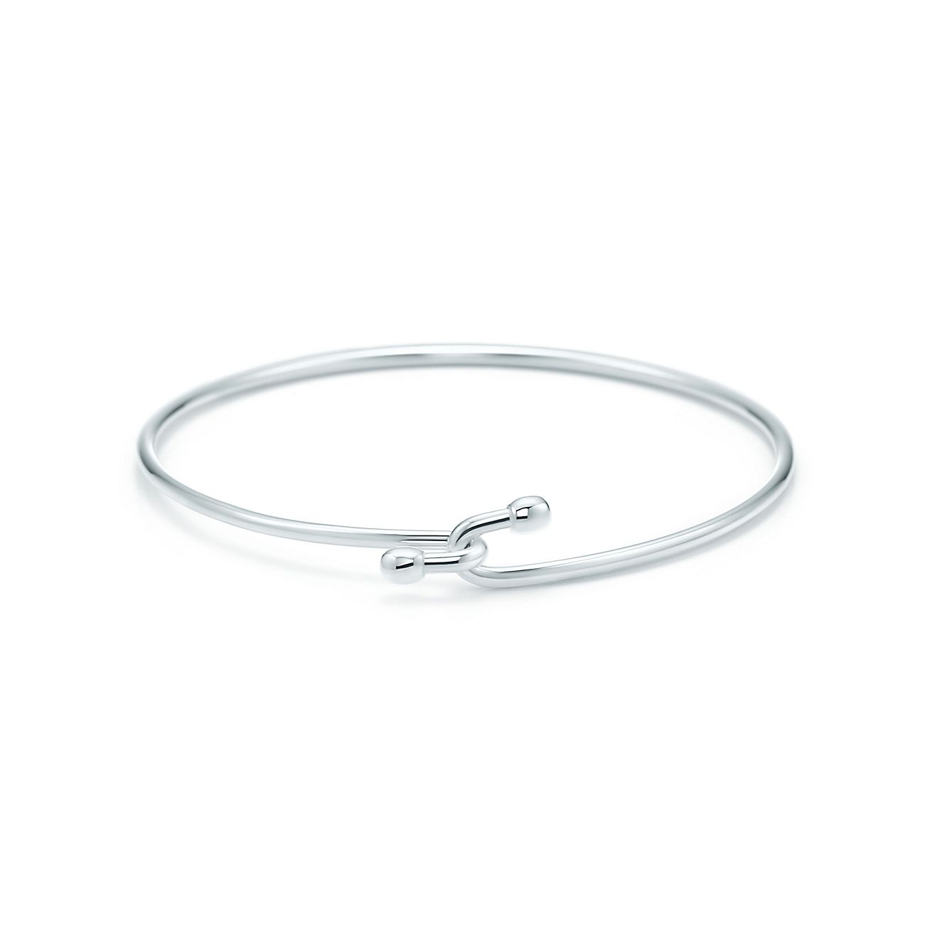 Wire bracelet in sterling silver, medium. | Tiffany & Co.