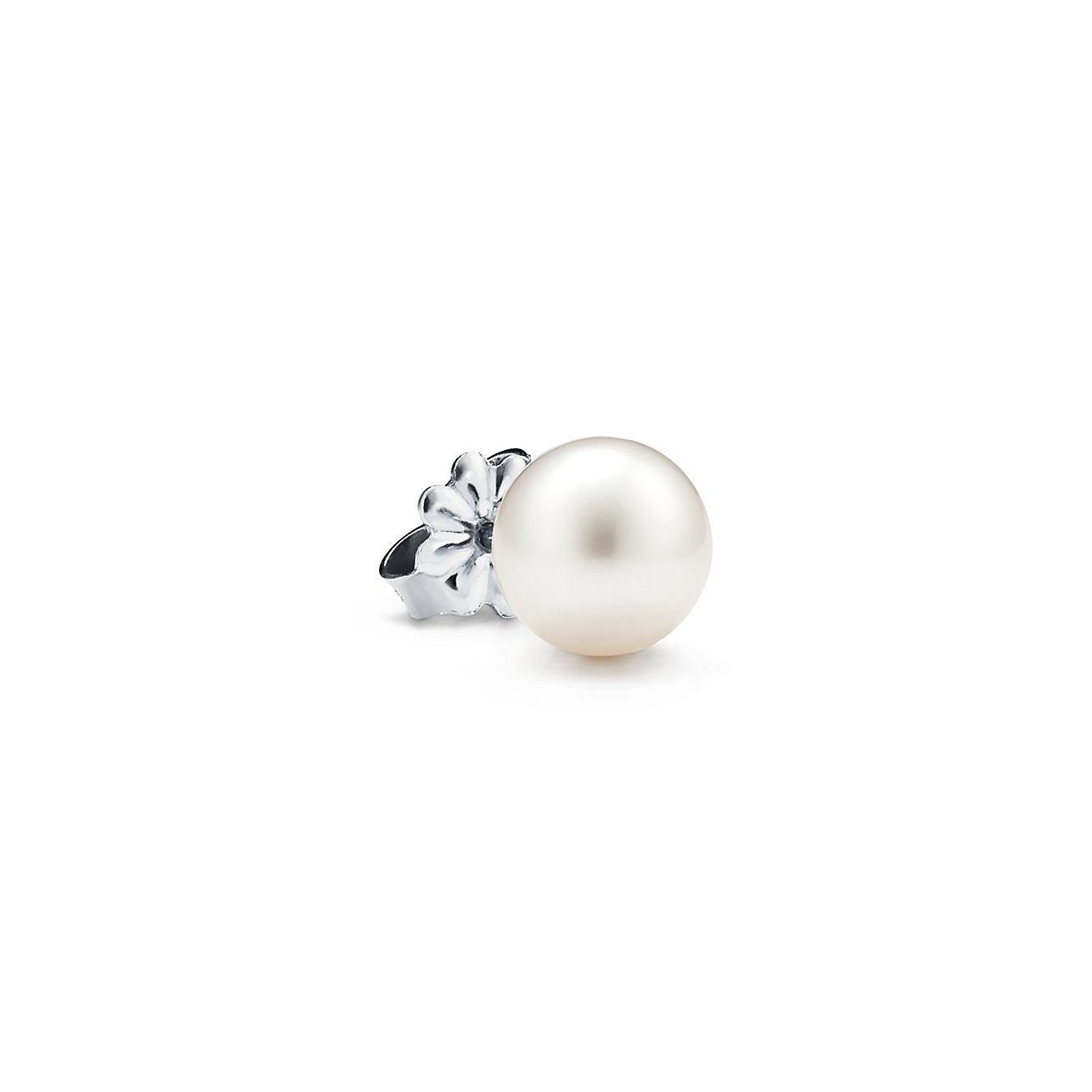 ChicSilver 4-12mm Handpicked White Freshwater Cultured Pearl Earrings Sterling Silver Studs for Women Girls Sensitive Ear with Gift Box
