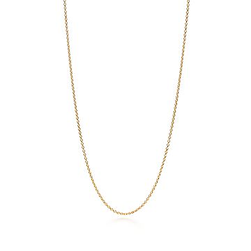 Cadena En Oro De 18 Quilates Tiffany Co