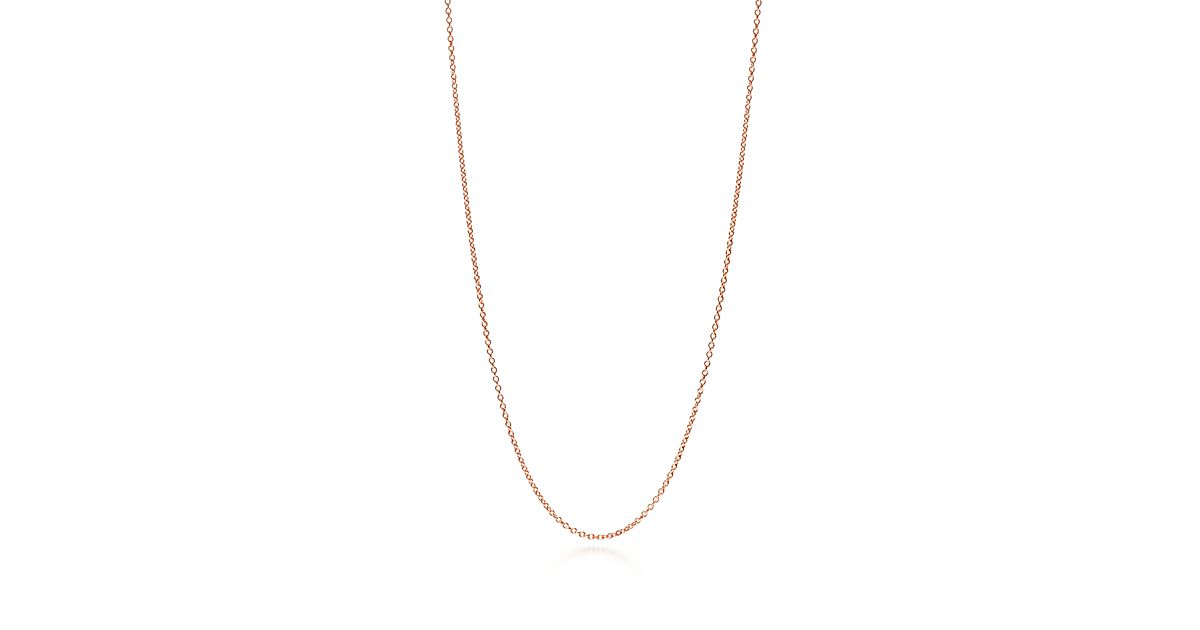 18k Rose Gold Chain by