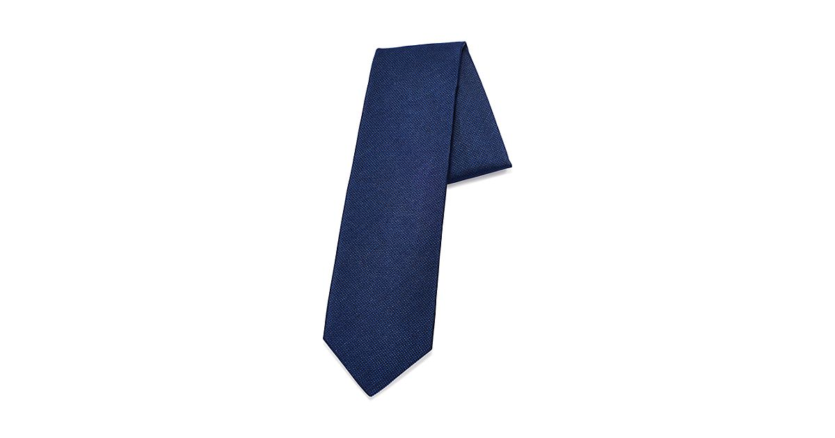 Diamond Point tie in tanzanite silk Tiffany & Co. 1s3xaEIv